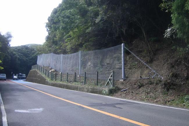 防護 柵 落石
